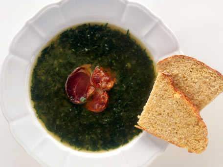 Portuguese Kale Soup - Caldo Verde