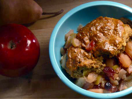 Fall Fruit Cobbler
