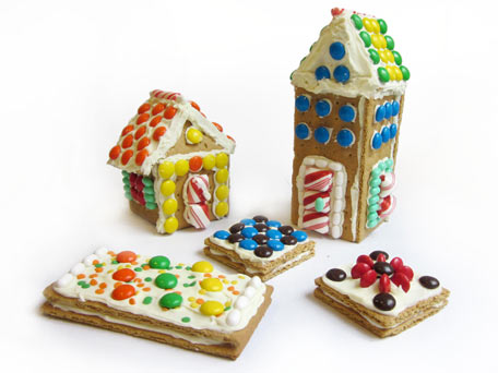 Gingerbread Houses Made Easy