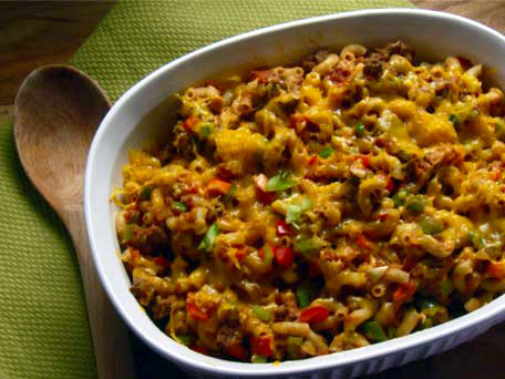 Macaroni and Beef Casserole
