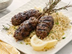 Moroccan Beef Skewers