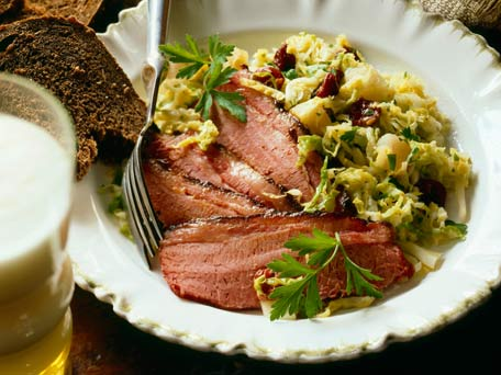 St. Patrick\'s Day Menu