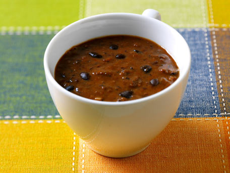 Cuban Black Bean Soup (Sopa de Frijoles Negros)