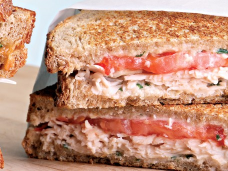 Turkey &amp; Tomato Panini