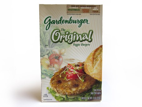 Gardenburger veggie burger