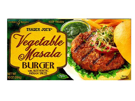 Trader Joe's veggie burger