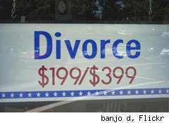 divorce vouchers for christmas