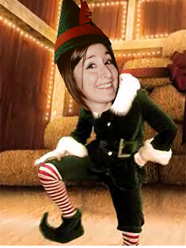 erin elf knee slap