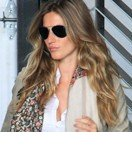 Gisele Bundchen's long wavy hairstyle
