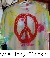 hippie tie-dye shirt