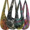 tie dye shoulder bag