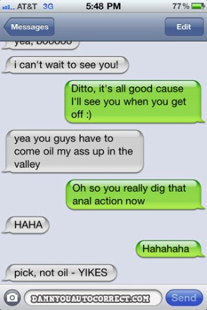 iphone auto corrections