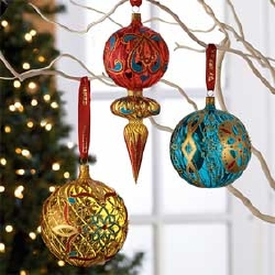 Glass Christmas Ornaments | Christmas Lights