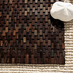 Or Add Some Wood Flooring Good Looks To A Carpeted Space, This  U0027rugu0027 Is .