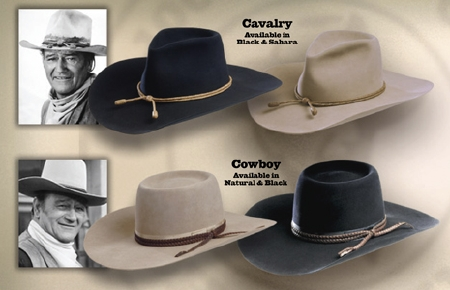 Stetson Hats That John Wayne Wore