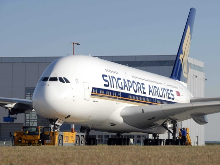 Singapore Airline Picture on Singapore Airlines Is The First Commercial Airline To Get Their Hands