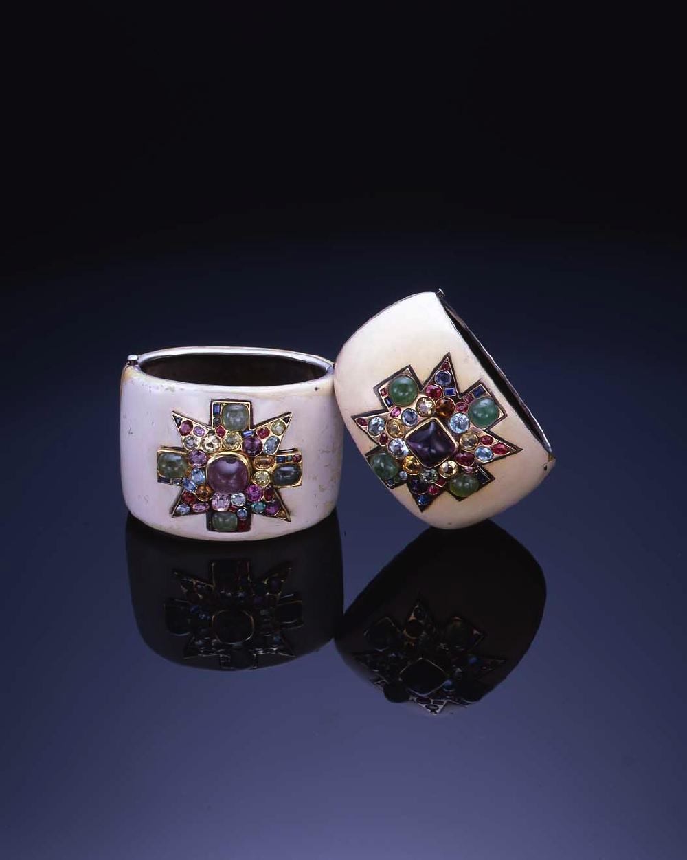 Coco Chanel's Maltese Cross Cuffs