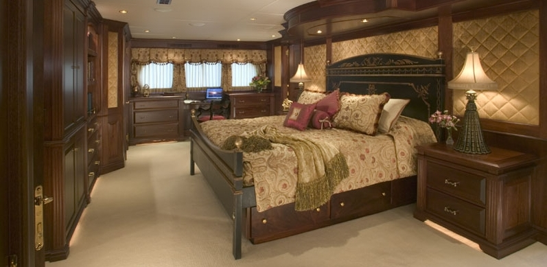 'Magic' yacht VIP stateroom is one of two aboard