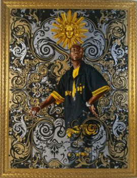 Kehinde Wiley Art Towel