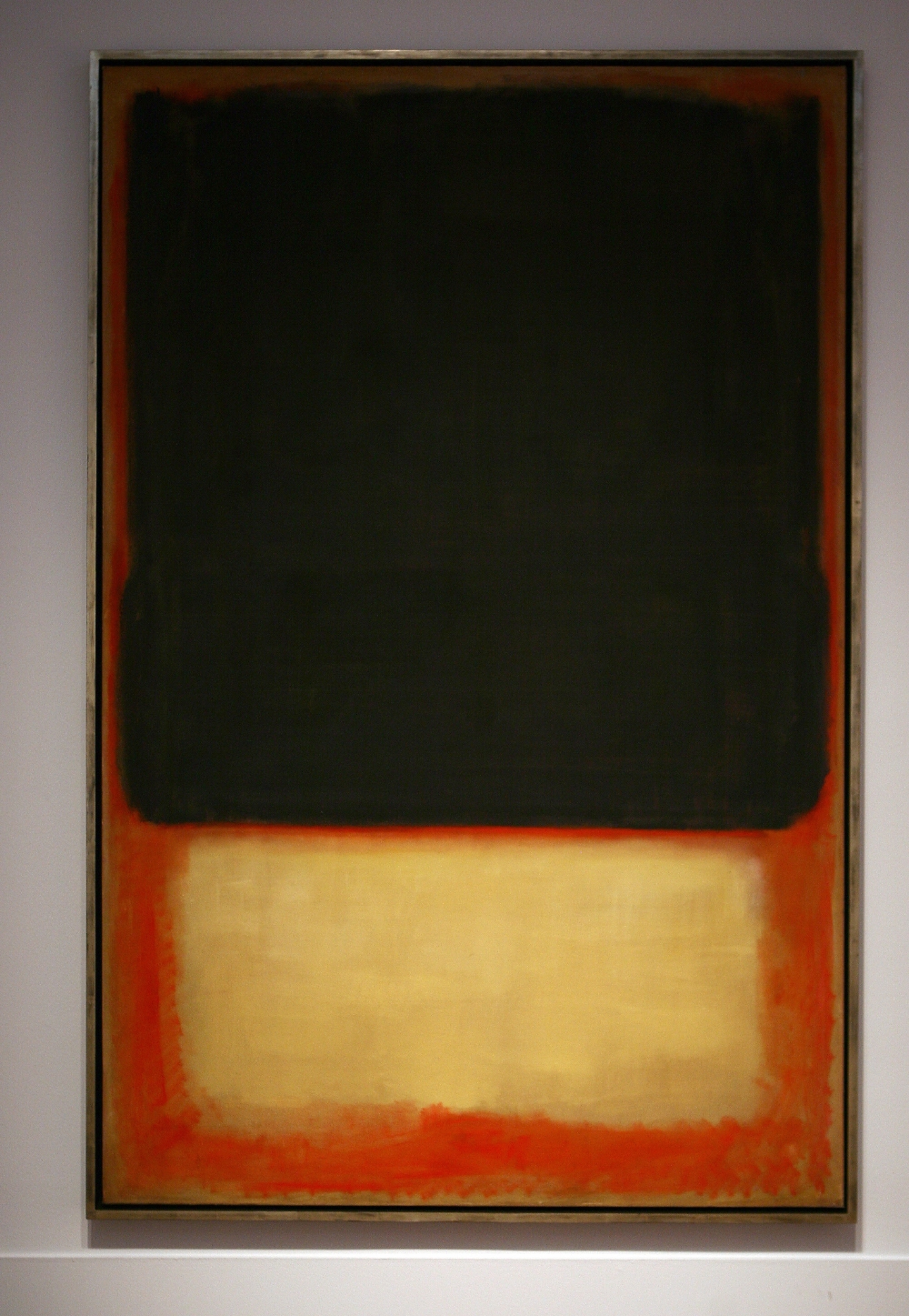 Rothko's Dark Over Light