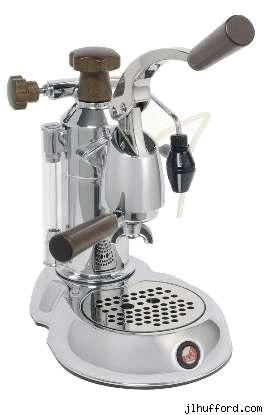 The La Pavoni Stradivari Coffee Maker