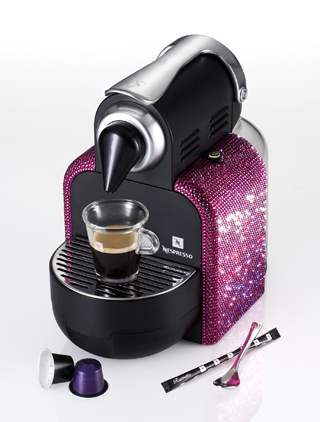 Nespresso Limited Edition Sparkle Pink Essenza