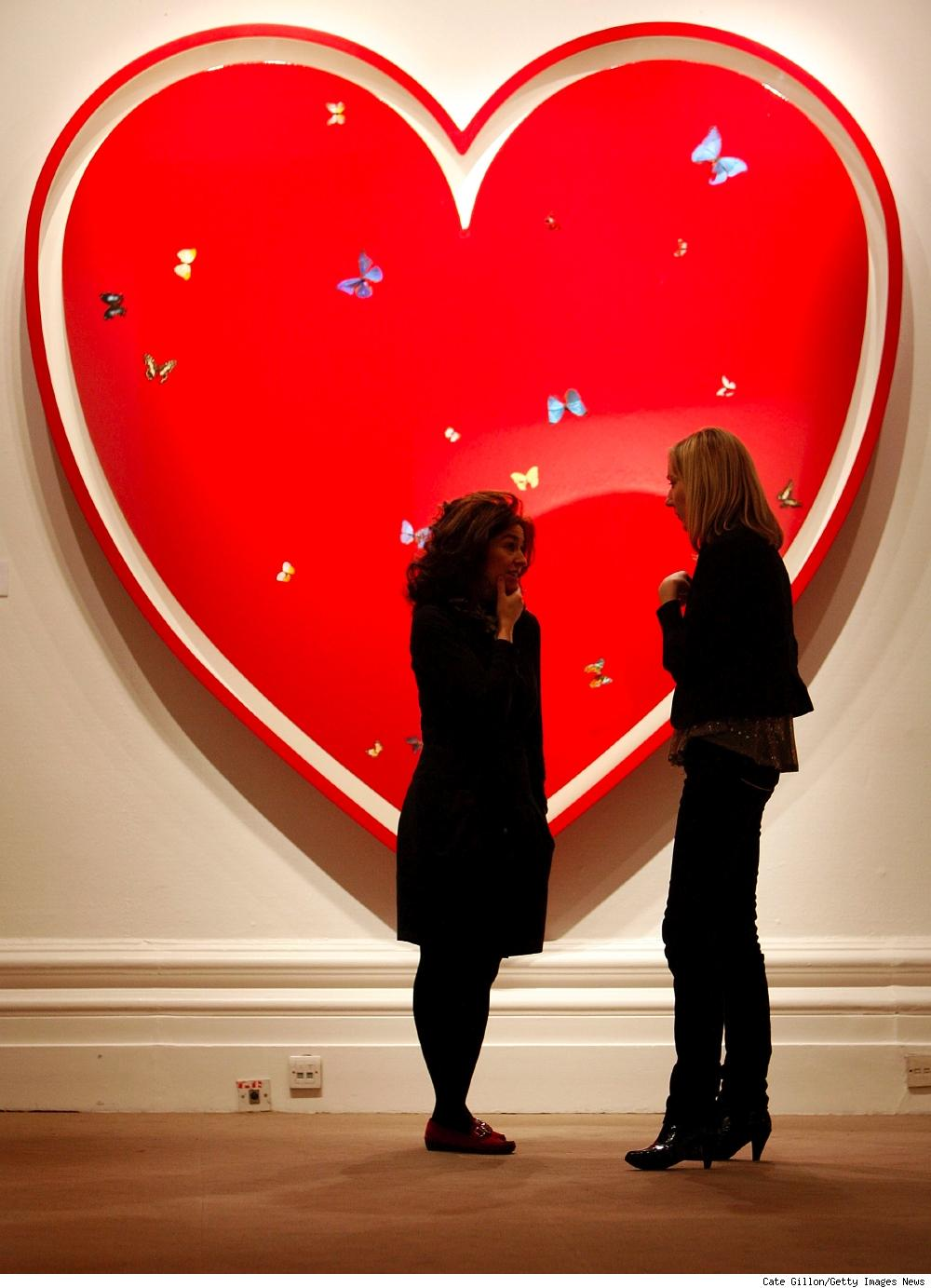 Damien Hirst's All You Need Is Love