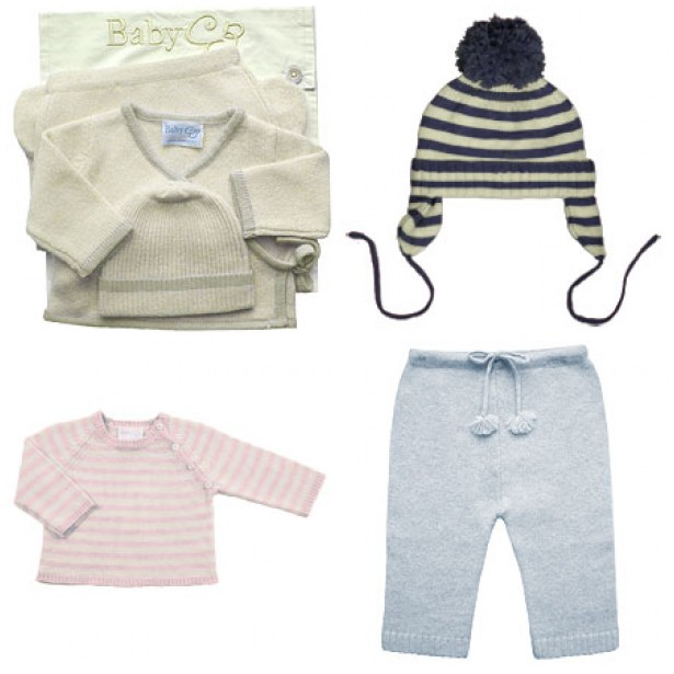 Baby CZ cashmere gift set: $279
