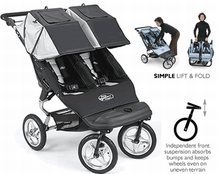 Double Baby Jogger City Series: $560
