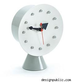 Vitra Nelson Cone Base Desk Clock, $295