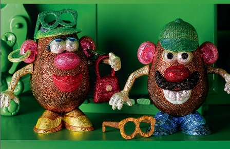 Swarovski Potato Heads
