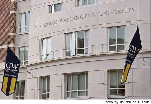 #1 George Washington University, Washington D.C.