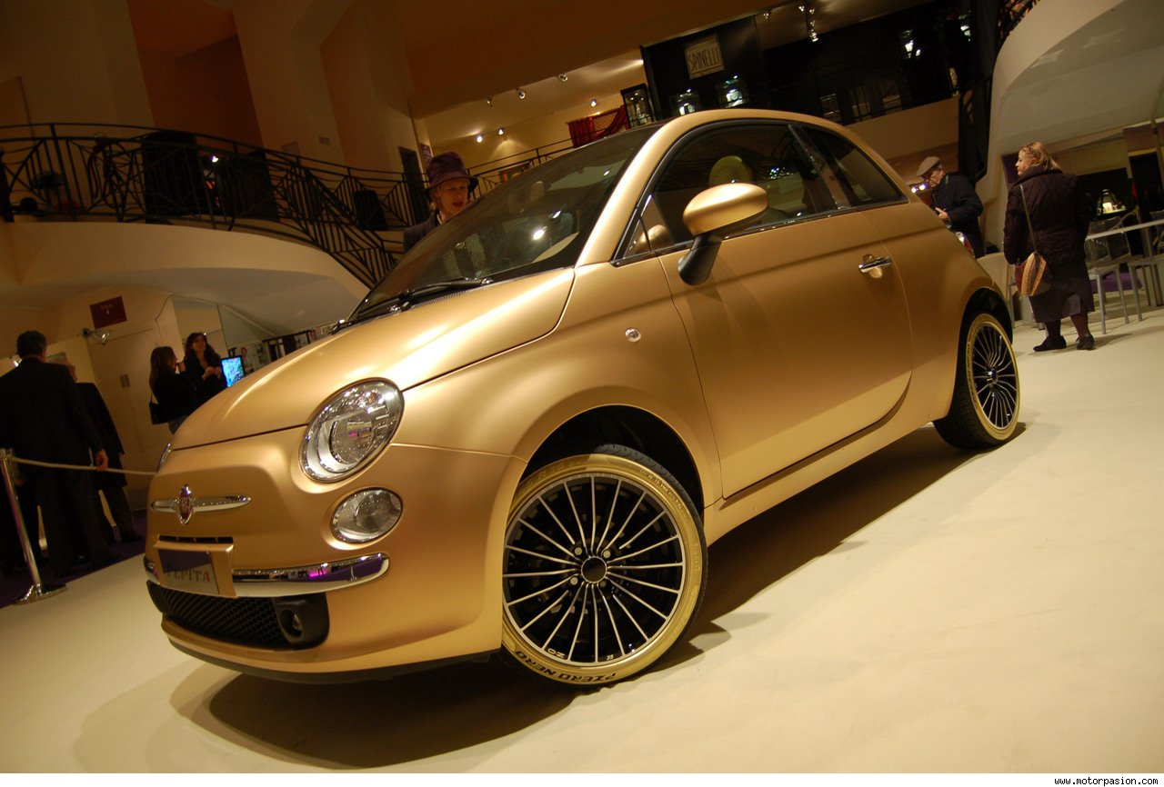Home · 24k Gold Fiat 500