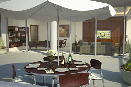 Olive 8 Community Game Room and Outdoor Terrace
