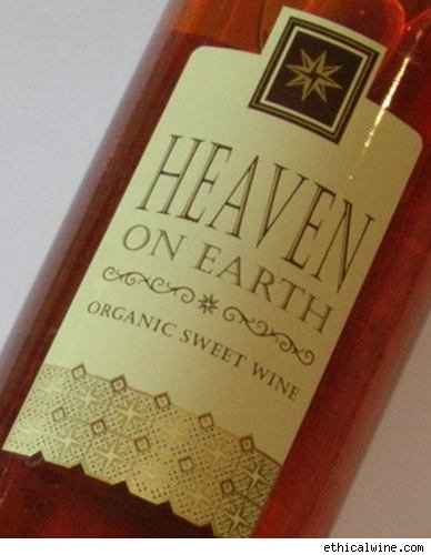 Heaven on Earth Organic Sweet Wine