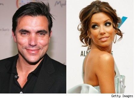 Todd English and Eva Longoria