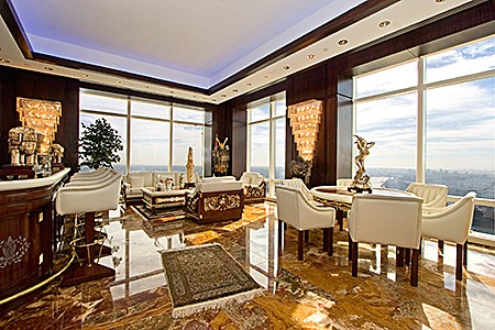 Luxury photos and articles stylelist for Trump tower new york penthouse