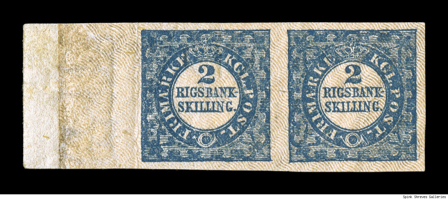 1855 unique Denmark 2-skilling margin pair