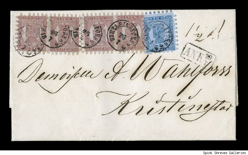 1866 unique Finland cover