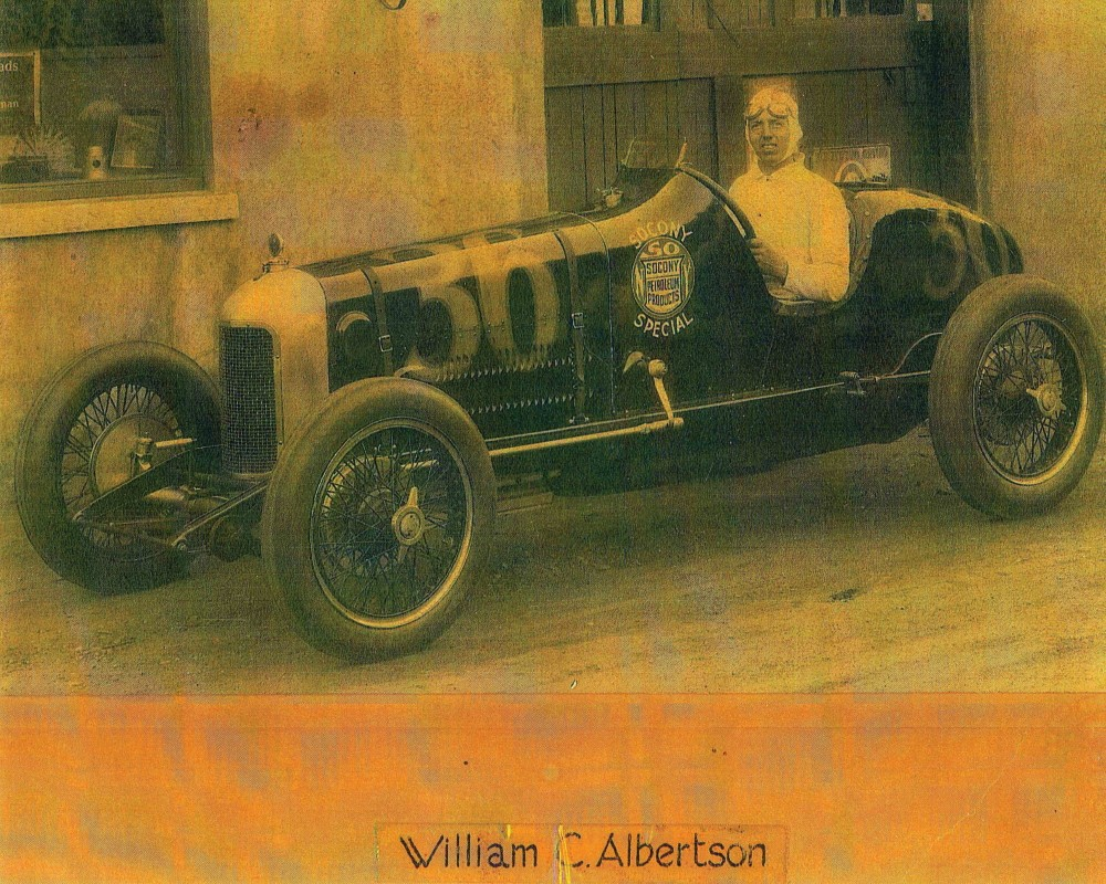 Vintage shot of the 1923 Miller