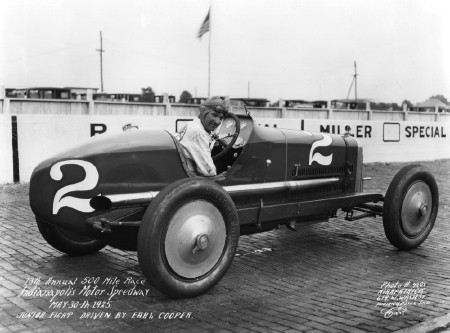 1923 Miller in action