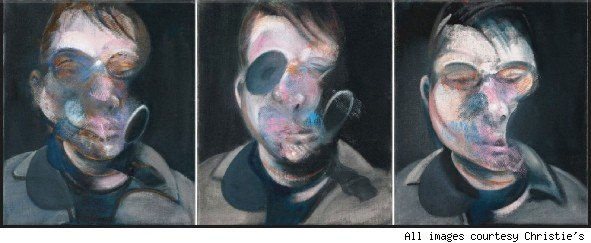 Francis Bacon self portrait.