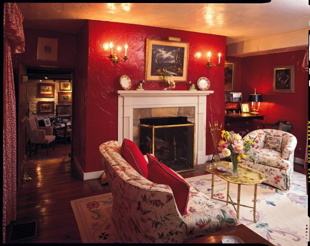 The Red Parlor at The Tannery
