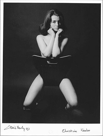 Christine Keeler by Lewis Morely.