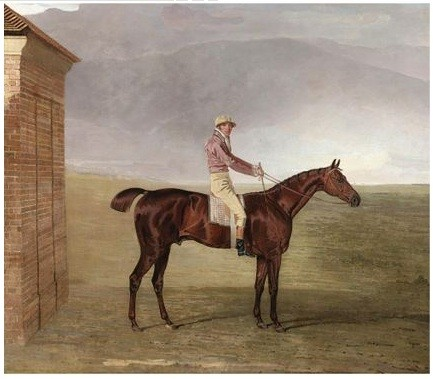 Ben Marshall's Mr. Henry Vansittart's Chestnut Colt Burleigh With Sam Chifney Up