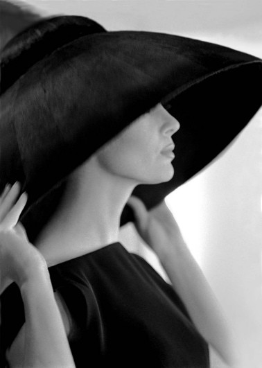 Victoire in hat by YSL.