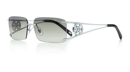 Tiffany Voile Rimless Sunglasses