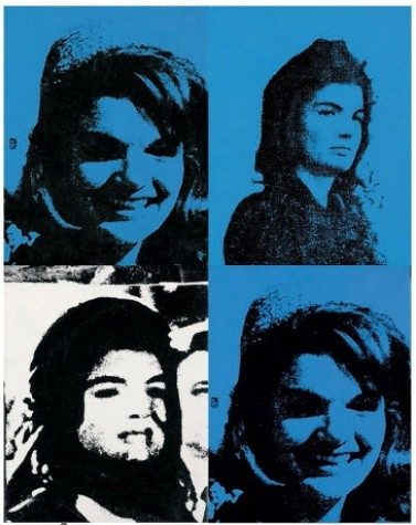 Jackie by Andy Warhol.