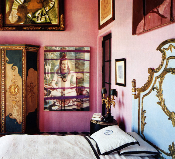 Schnabel's bedroom.