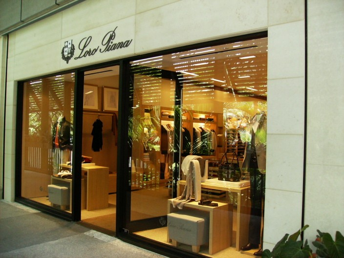 The Bal Harbour store.
